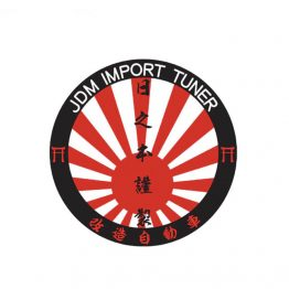 JDM Import Tuner Sticker
