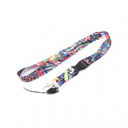 Stickerbomb Lanyard