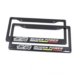 mugen license plate frame cover