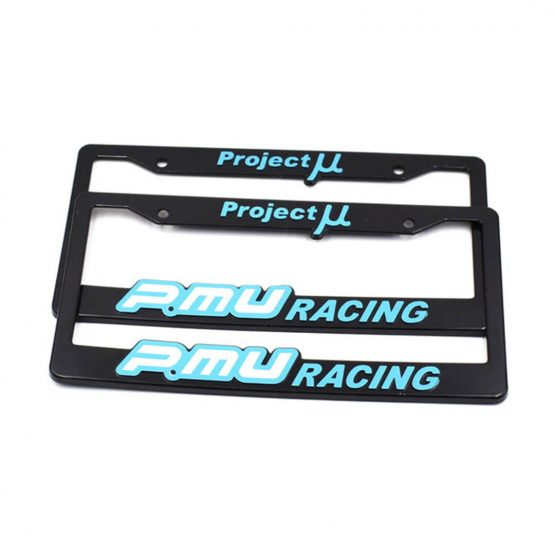 project license plate frame cover