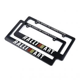 ralli-art license plate frame cover